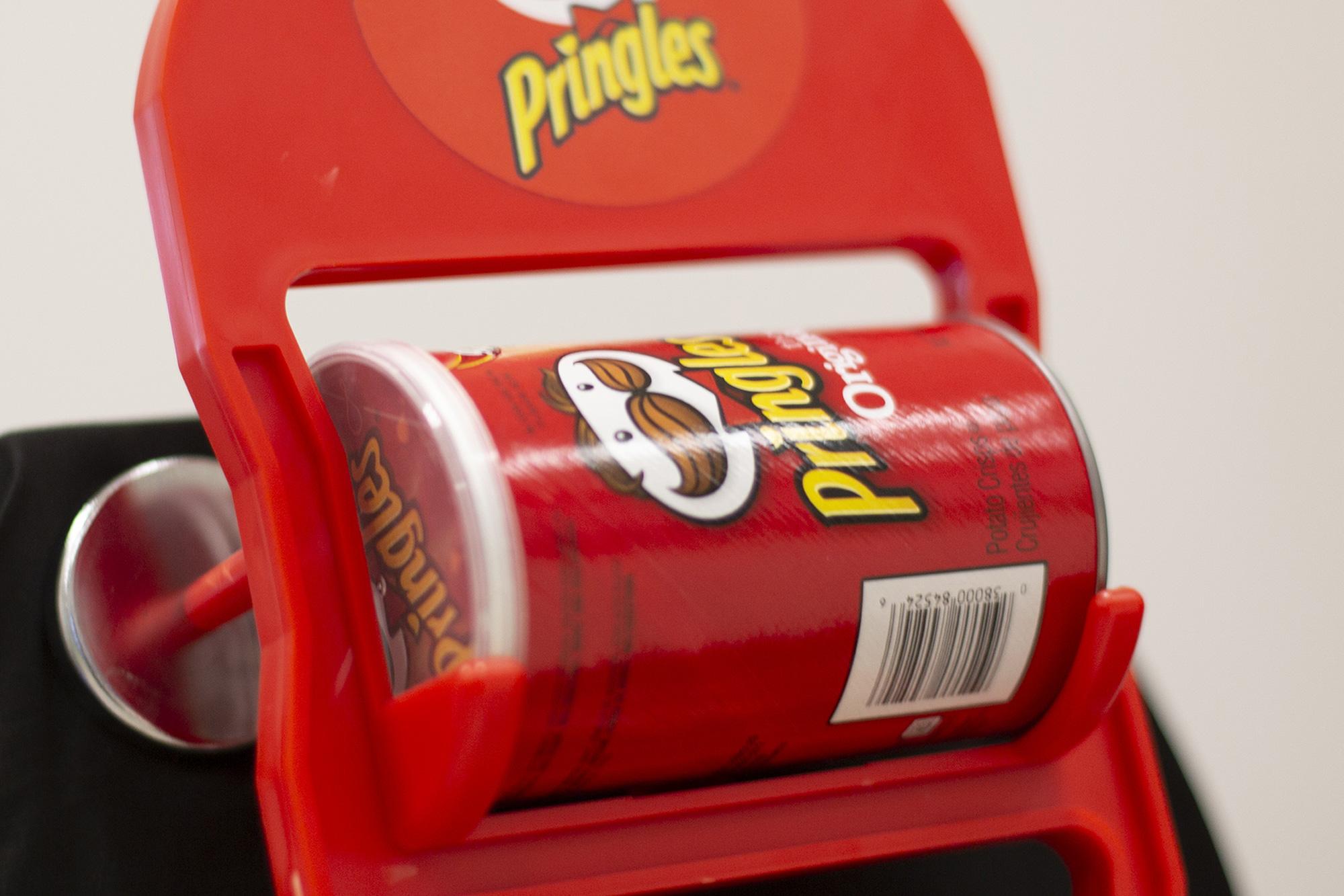 Pringles Semi-permanent display